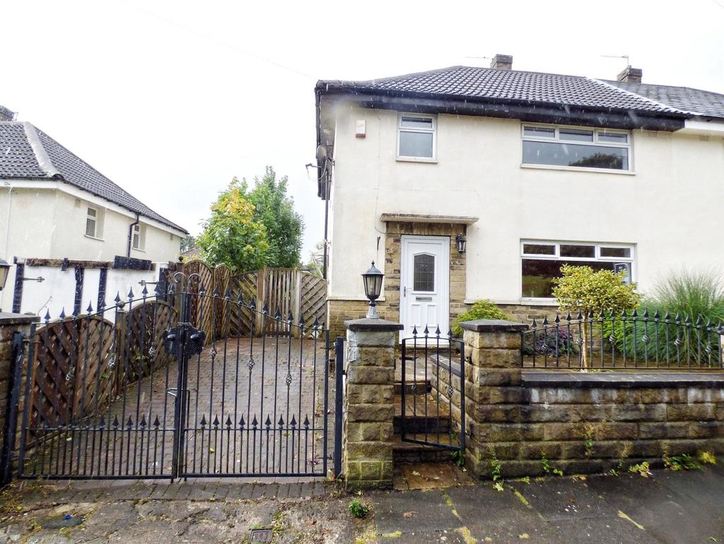3 Bedrooms Semi Detached House for sale in Keighley Drive, Ovenden, HALIFAX, West Yorkshire, HX2