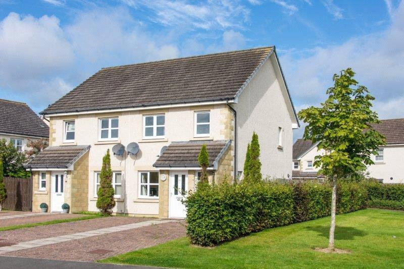 3 Bedrooms Semi Detached House for sale in 15 Polwarth Avenue, St. Boswells, Melrose, Scottish Borders, TD6