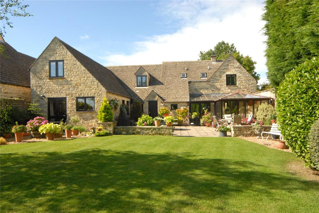4 Bedrooms Detached House for sale in Upper Harford, Bourton-on-the-Water, Cheltenham, Gloucestershire, GL54