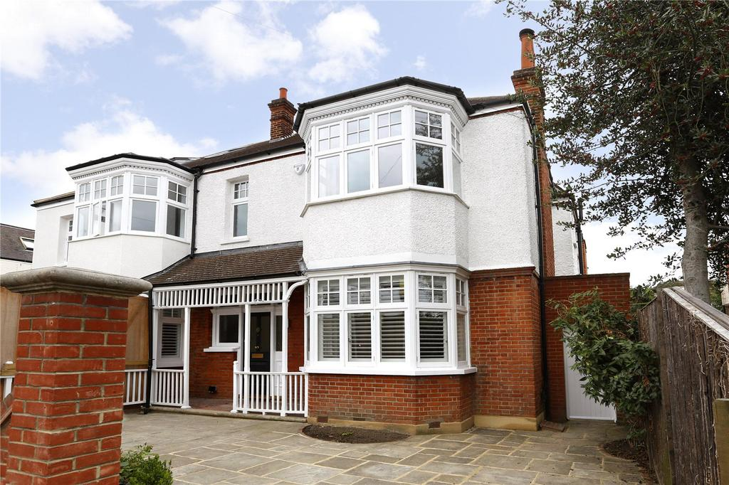 5 Bedrooms Semi Detached House for sale in Oakwood Road, Wimbledon, SW20