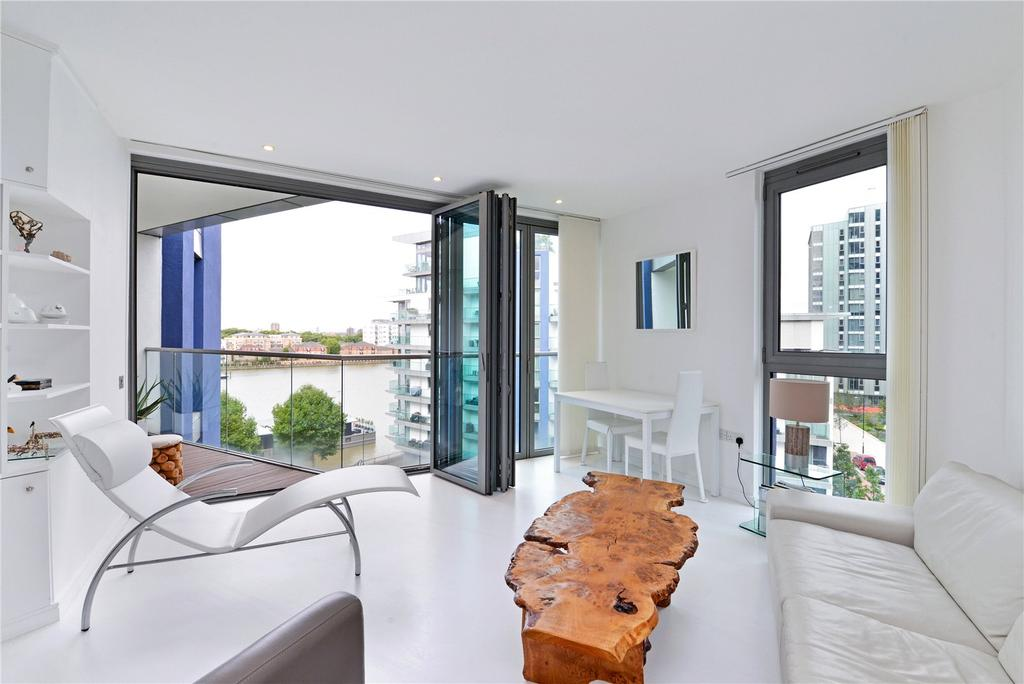 1 Bedroom Flat for sale in Chapelier House, Riverside Quarter, Wandsworth, London, SW18