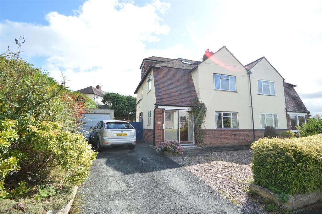 4 Bedrooms Semi Detached House for sale in 34 Westlands Road, Shrewsbury, SY3 8UT