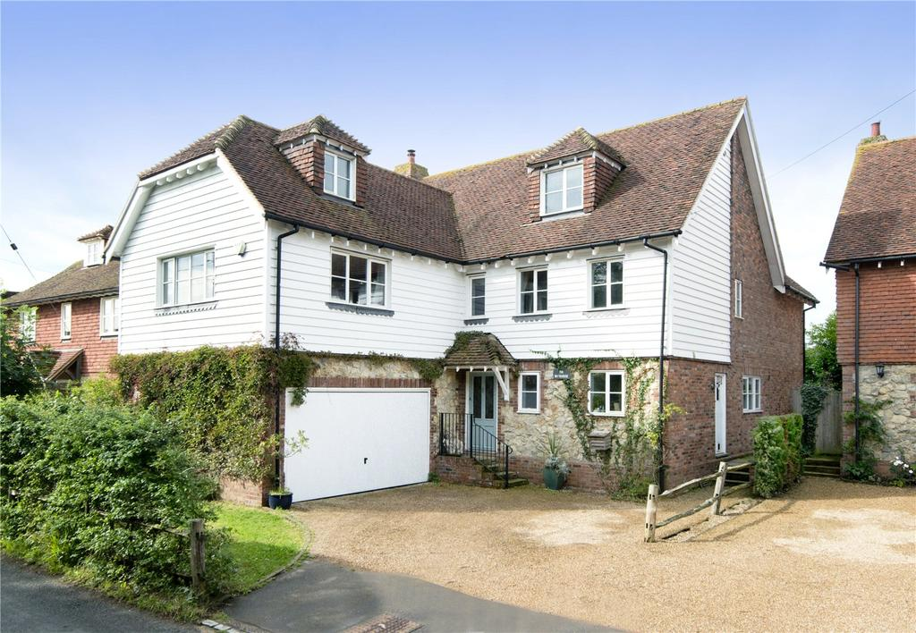 5 Bedrooms Detached House for sale in Long Mill Lane, Dunks Green, Tonbridge, Kent, TN11