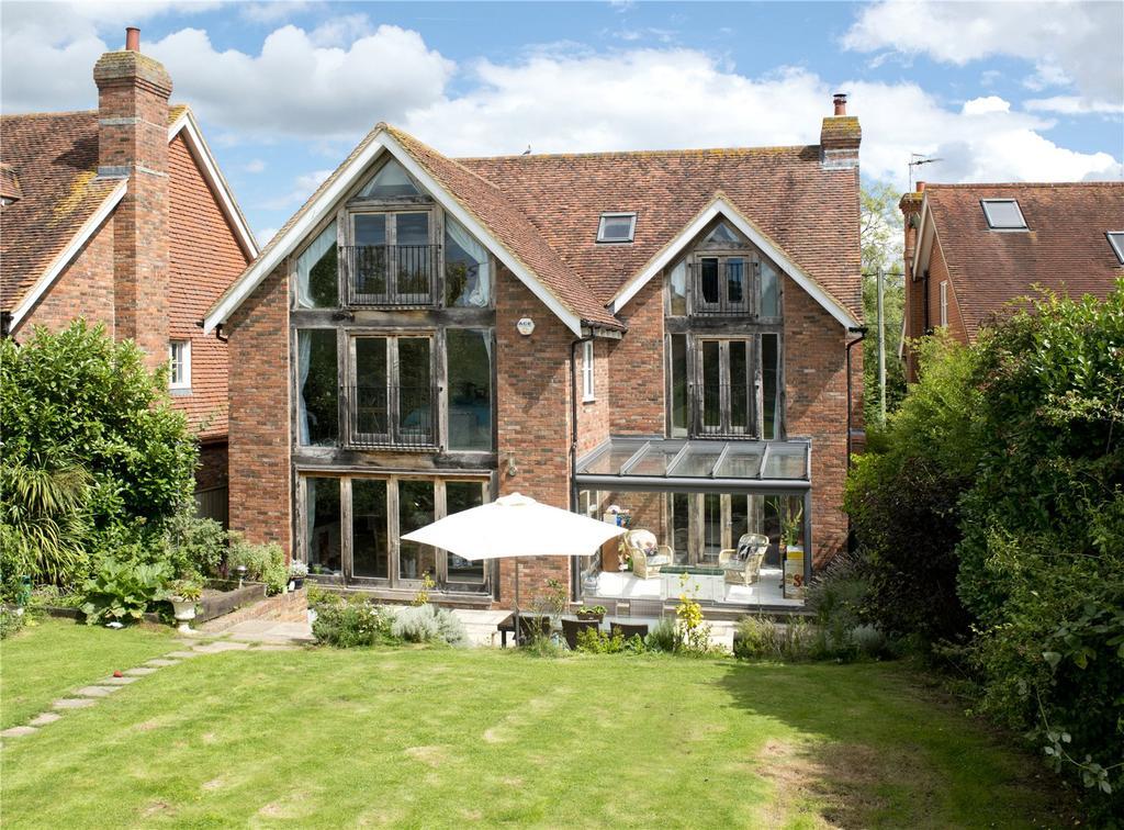 5 Bedrooms Detached House for sale in Long Mill Lane, Dunks Green, Tonbridge, Kent, TN11