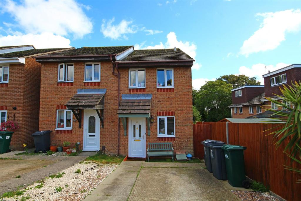 2 Bedrooms Semi Detached House for sale in Crest Way, Portslade, Brighton