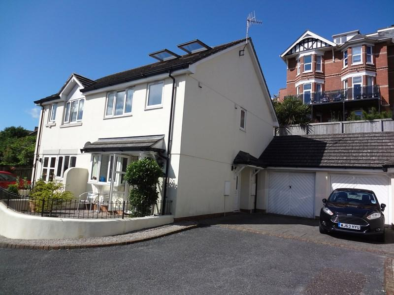 4 Bedrooms Semi Detached House for sale in Lower Brimley Close, Teignmouth
