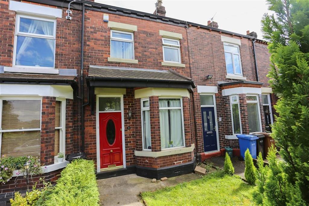 2 Bedrooms Terraced House for sale in Poleacre Lane, Woodley, Cheshire