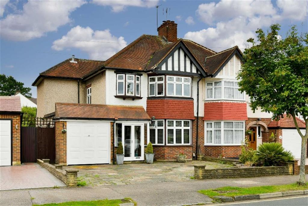 4 Bedrooms Semi Detached House for sale in Briarwood Road, Stoneleigh, Surrey