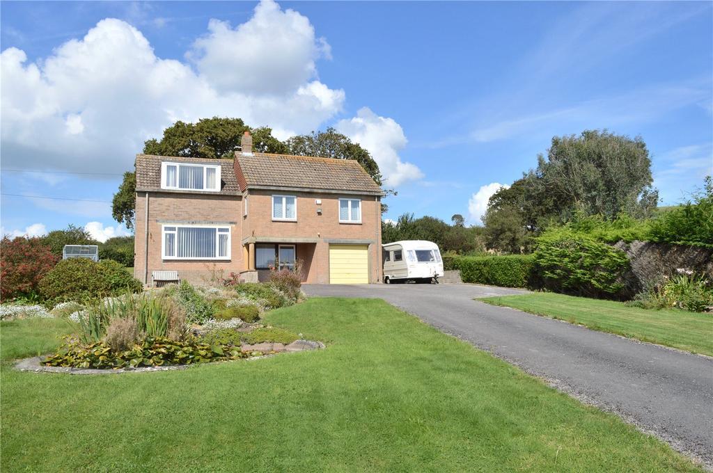 4 Bedrooms Detached House for sale in Chideock, Bridport, Dorset