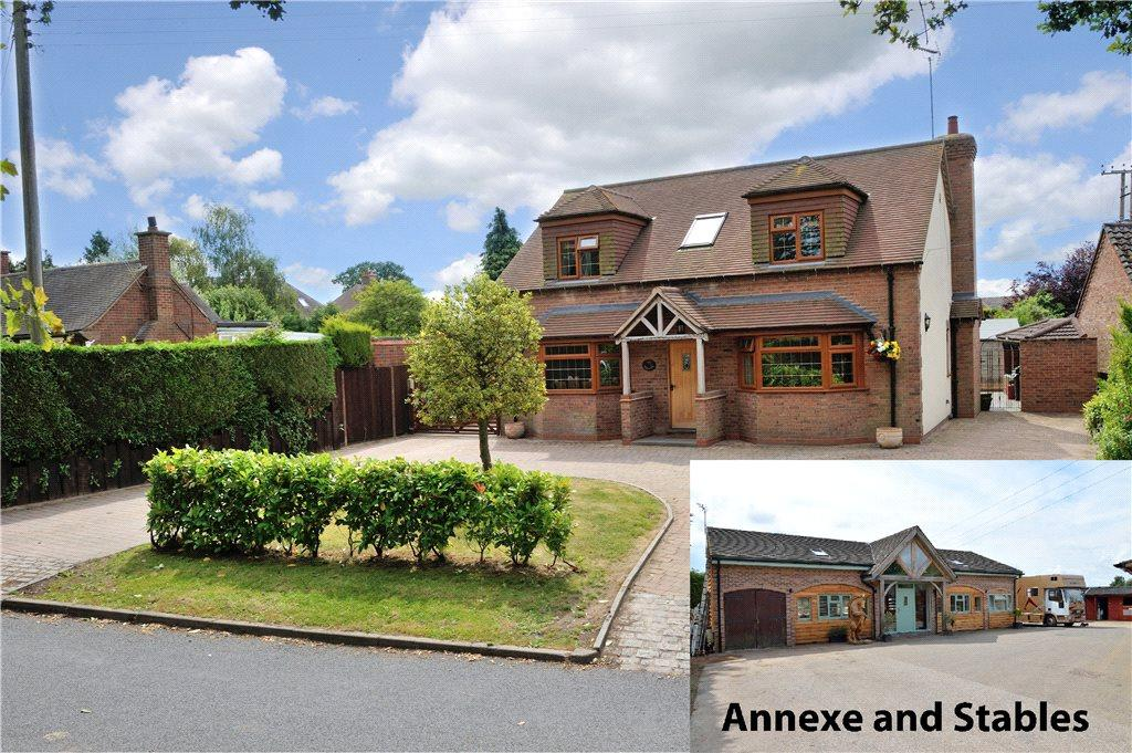 4 Bedrooms Equestrian Facility Character Property for sale in Wood Lane, New End, Astwood Bank, Redditch, B96