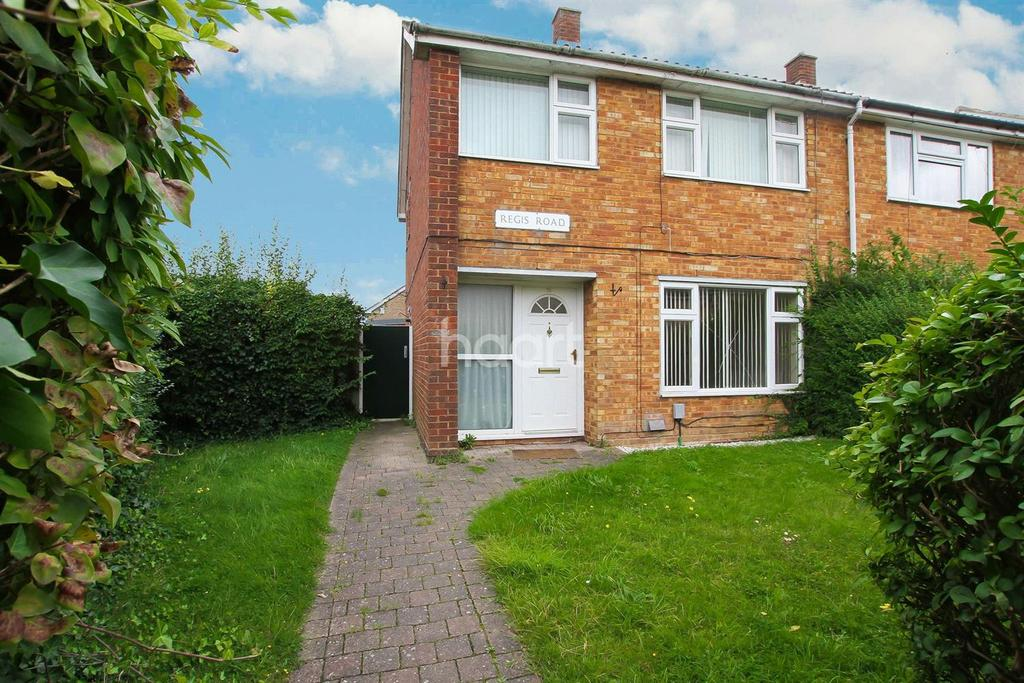 3 Bedrooms End Of Terrace House for sale in Regis Road