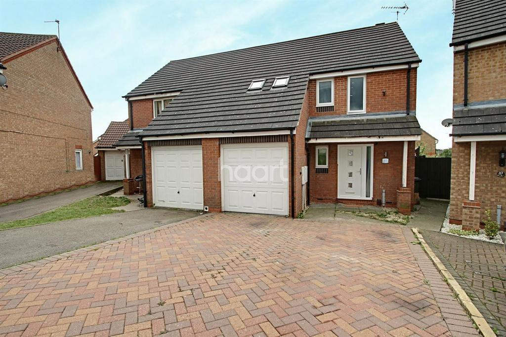 4 Bedrooms Semi Detached House for sale in Darien Way, Thorpe Astley, Leicester