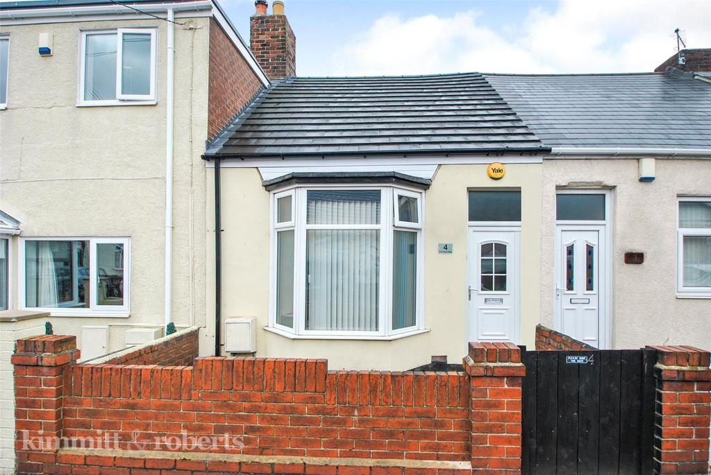 1 Bedroom Terraced Bungalow for sale in Front Street West, Penshaw, Tyne and Wear, DH4
