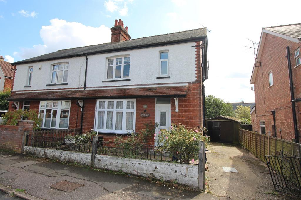 3 Bedrooms Semi Detached House for sale in Weston Road, Stevenage, SG1 3RH