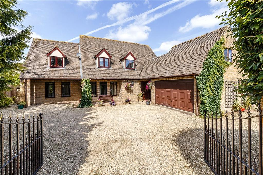 4 Bedrooms Detached House for sale in Abingdon Road, Marcham, Abingdon, OX13
