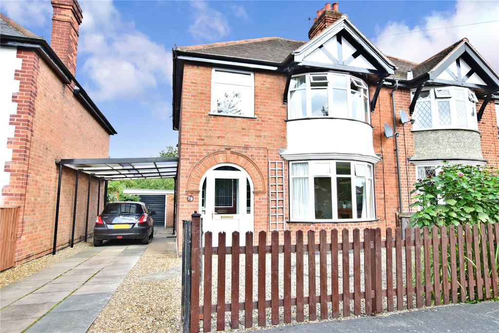 3 Bedrooms Semi Detached House for sale in College Avenue, Melton Mowbray, Leicestershire