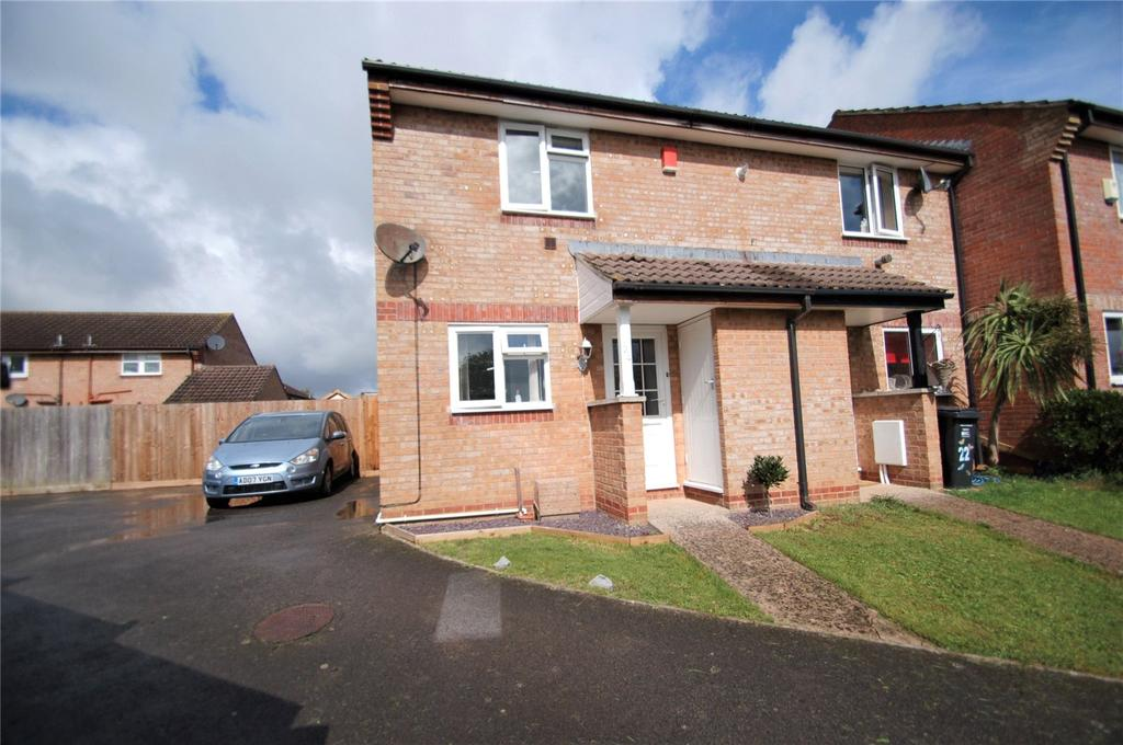2 Bedrooms End Of Terrace House for sale in Biddiscombe Close, Bridgwater, Somerset, TA6