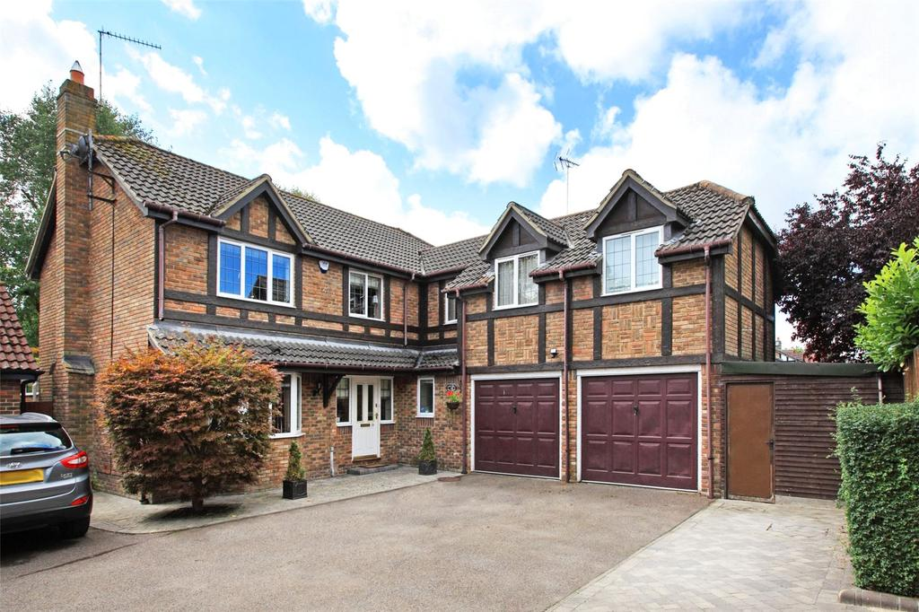 5 Bedrooms Detached House for sale in Mill Road, Dunton Green, Sevenoaks, Kent, TN13