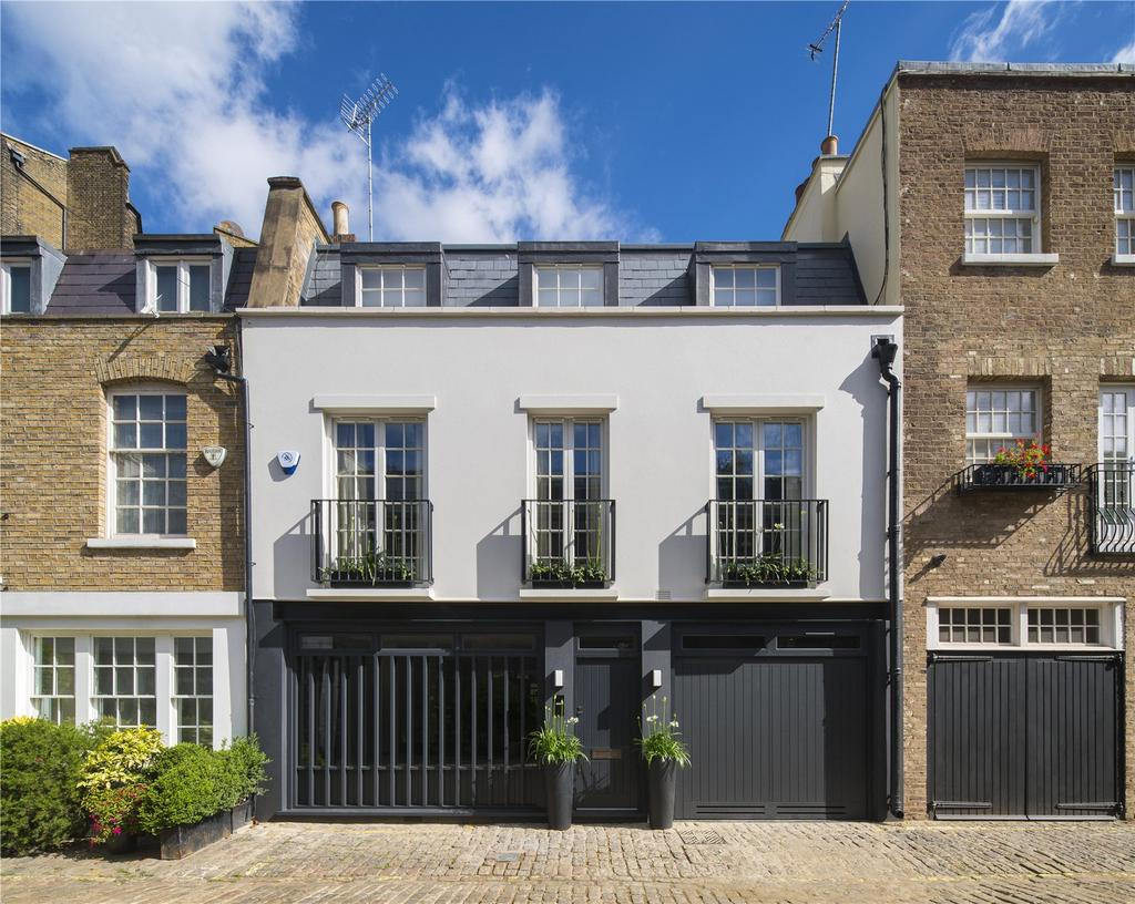 4 Bedrooms Mews House for sale in Hyde Park Gardens Mews, London, W2