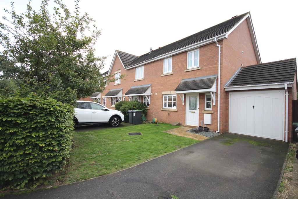3 Bedrooms End Of Terrace House for sale in Signal Close, Henlow, SG16