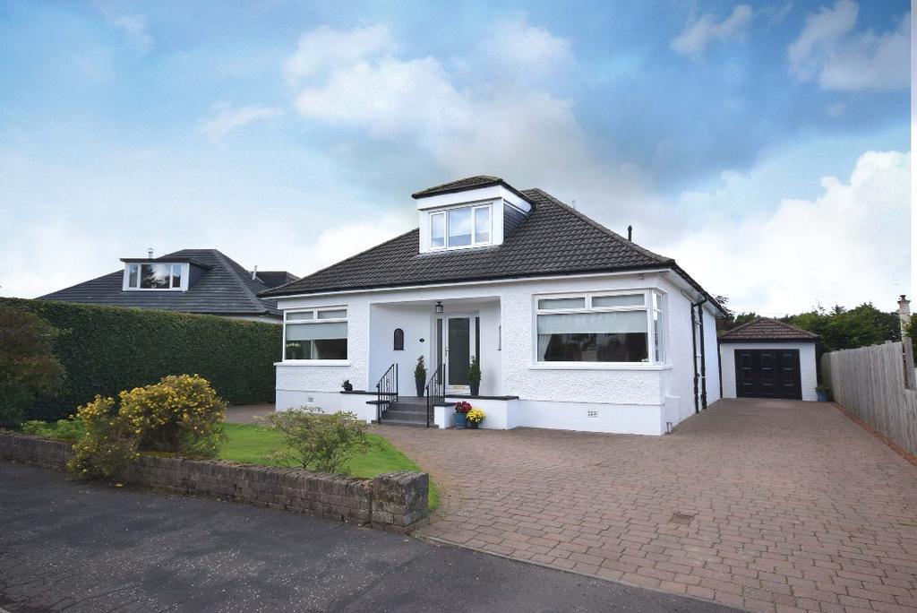 4 Bedrooms Detached Bungalow for sale in Parklee Drive, Carmunnock, Glasgow, G76 9AS