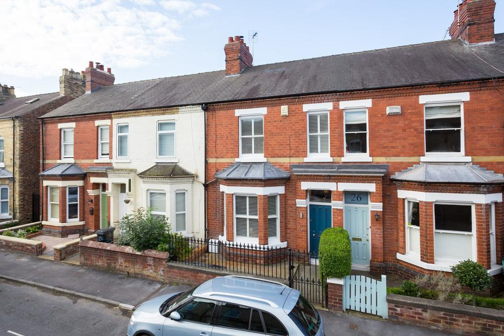 2 Bedrooms Terraced House for sale in Markham Street, York, YO31