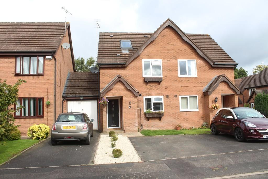 3 Bedrooms Semi Detached House for sale in Hazeltree Grove, Dorridge