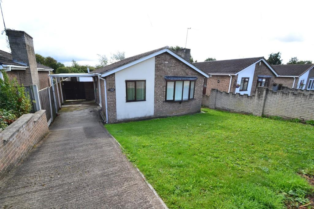 2 Bedrooms Detached Bungalow for sale in Barnsdale Way, Upton, Pontefract