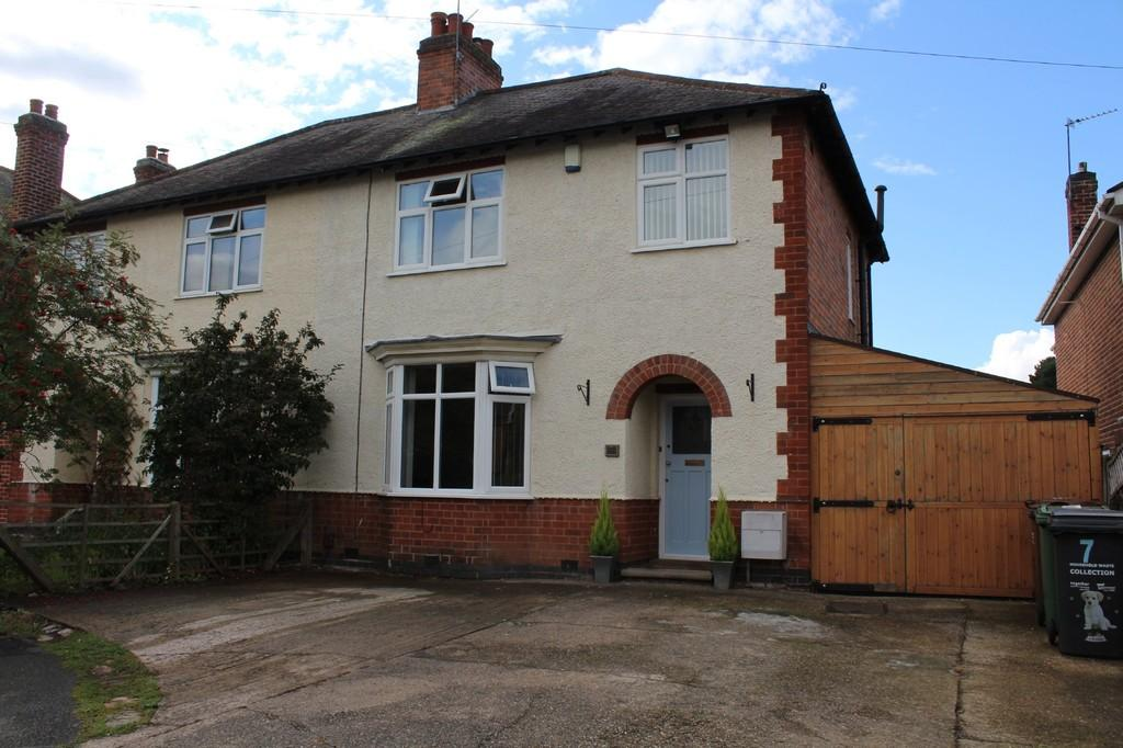 3 Bedrooms Semi Detached House for sale in Outwoods Avenue, Loughborough