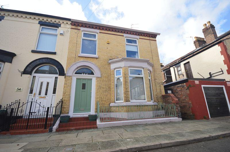 4 Bedrooms End Of Terrace House for sale in Belgrave Road, Aigburth