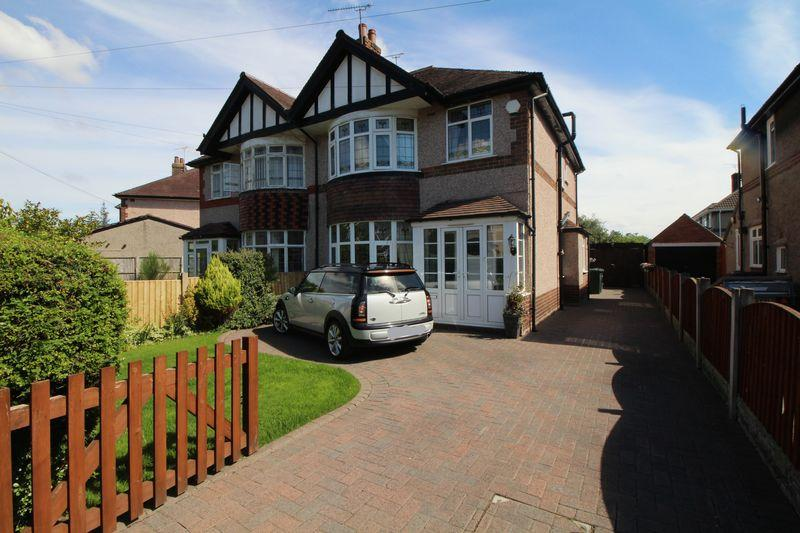 4 Bedrooms Semi Detached House for sale in Parkfield Drive, Ellesmere Port