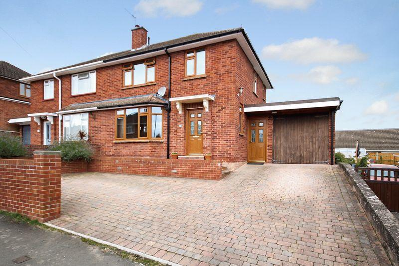 3 Bedrooms Semi Detached House for sale in Langland Drive, Hereford