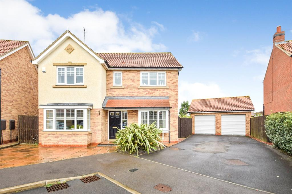 4 Bedrooms Detached House for sale in Crastor Point, East Shore Village, Seaham, Co. Durham, SR7
