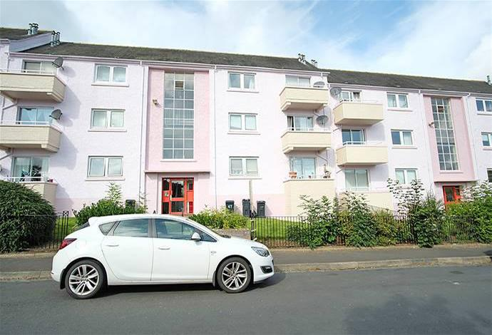 2 Bedrooms Flat for sale in 51 Balmoral Road, Galashiels, TD1 1JN