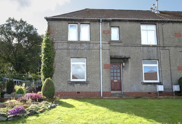 2 Bedrooms Flat for sale in 63 Scott Crescent, Selkirk, TD7 4EN