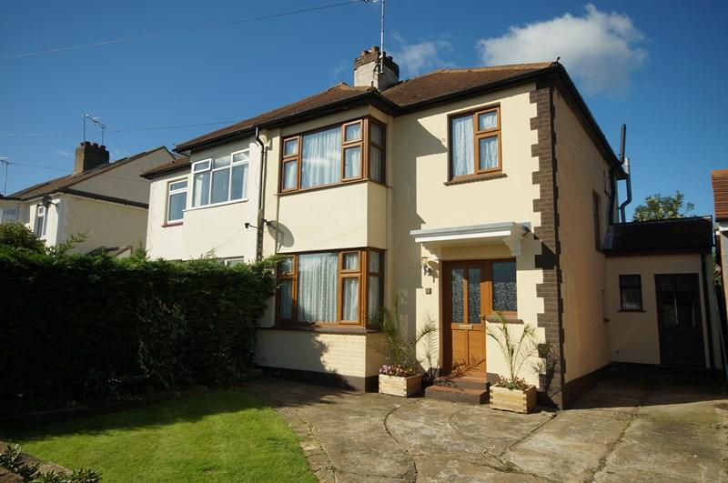 3 Bedrooms Semi Detached House for sale in Danesleigh Gardens, Leigh-On-Sea
