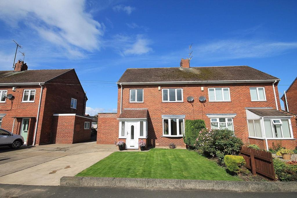 3 Bedrooms Semi Detached House for sale in Hall Lane Estate, Willington, Crook