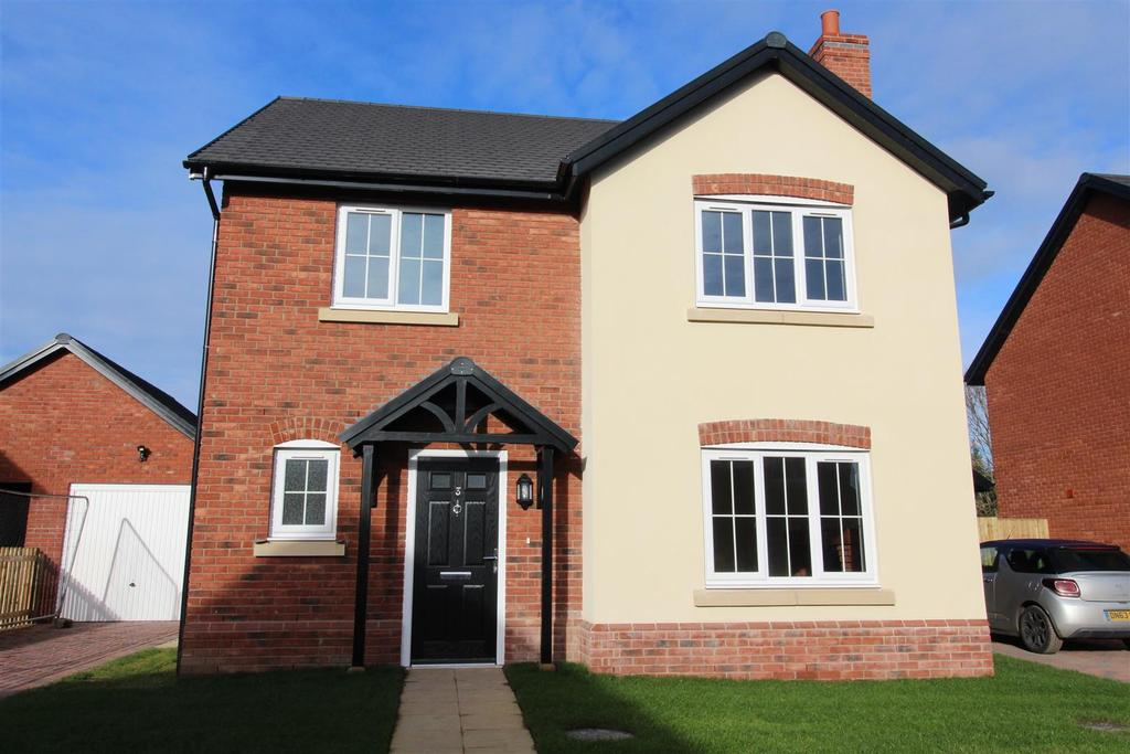 4 Bedrooms Detached House for sale in Stoneleigh Park, Acton Burnell, Shrewsbury