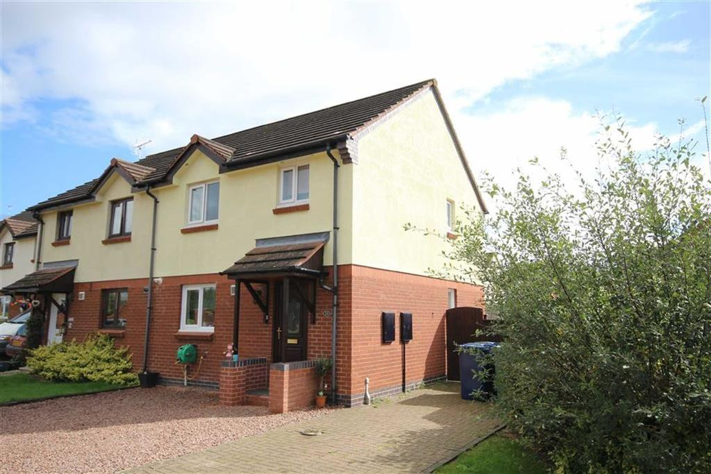 3 Bedrooms Semi Detached House for sale in Sallis Close, Northway, Tewkesbury, Gloucestershire