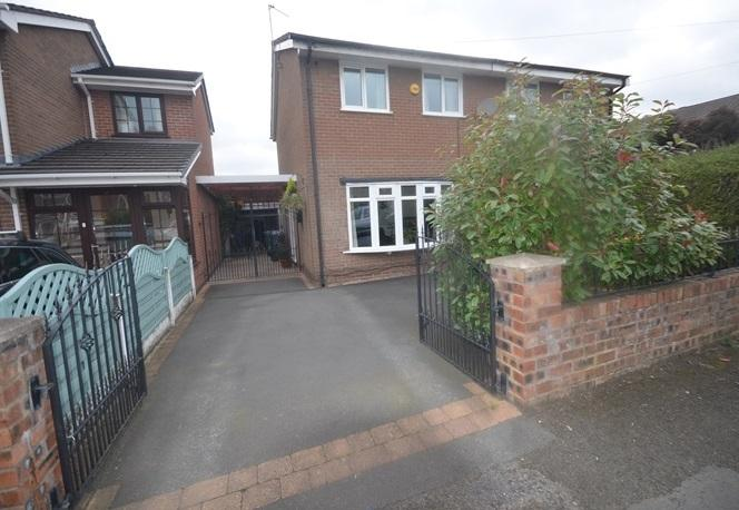 3 Bedrooms Semi Detached House for sale in Sharrington Drive, Baguley, MANCHESTER M23