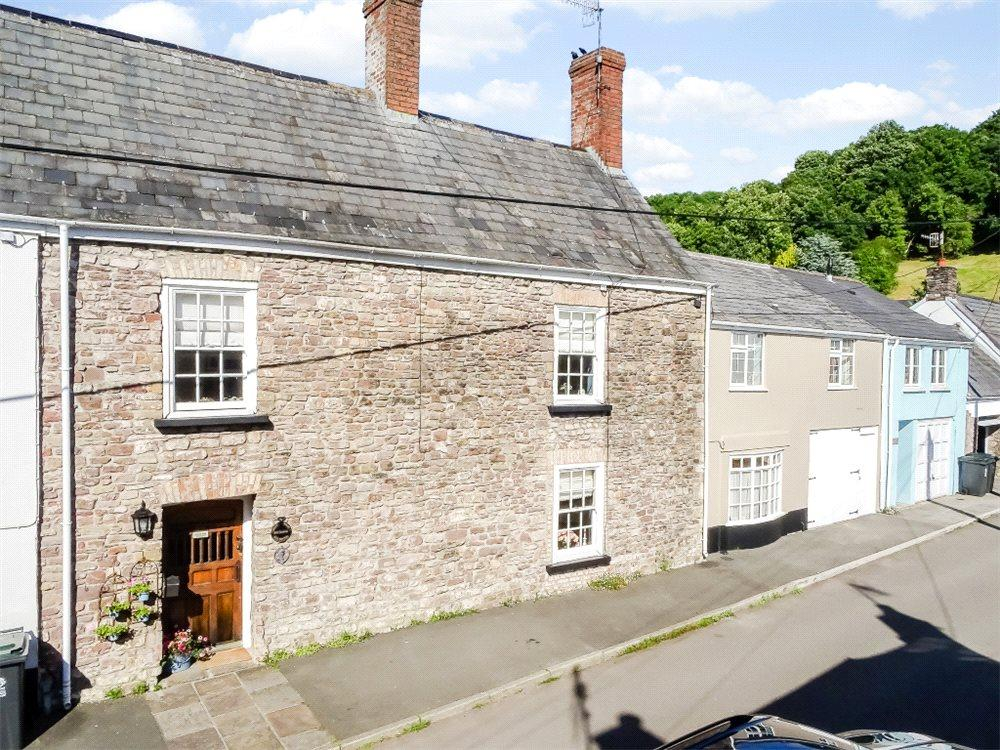 4 Bedrooms Terraced House for sale in Isca Road, Old Village, Caerleon, Monmouthshire, NP18