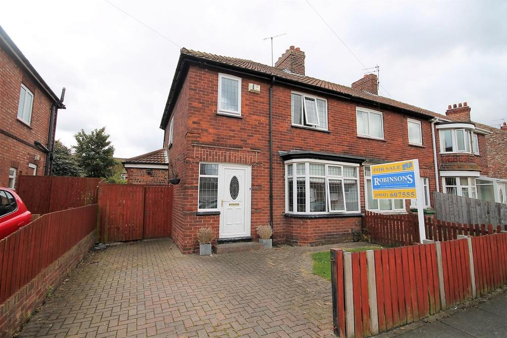 3 Bedrooms Semi Detached House for sale in Grange Road, Norton