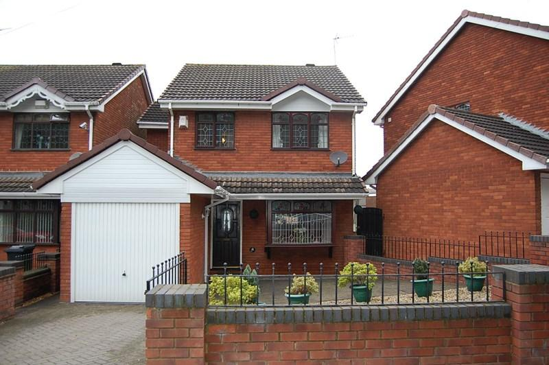 4 Bedrooms Detached House for sale in Jews Lane, Upper Gornal, Dudley