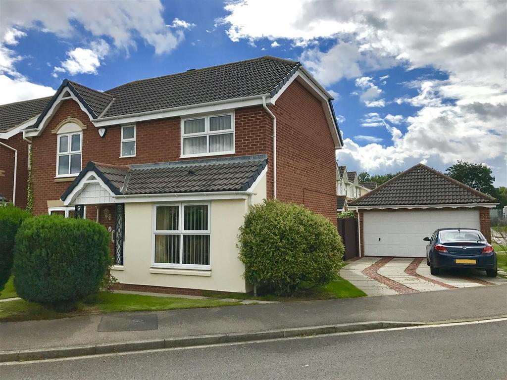 4 Bedrooms Detached House for sale in Trevithick Close, Eaglescliffe