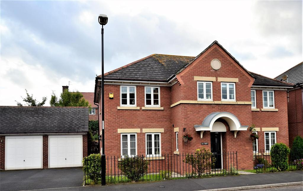 4 Bedrooms Detached House for sale in Aylesford Mews, Greystoke Manor, Sunderland