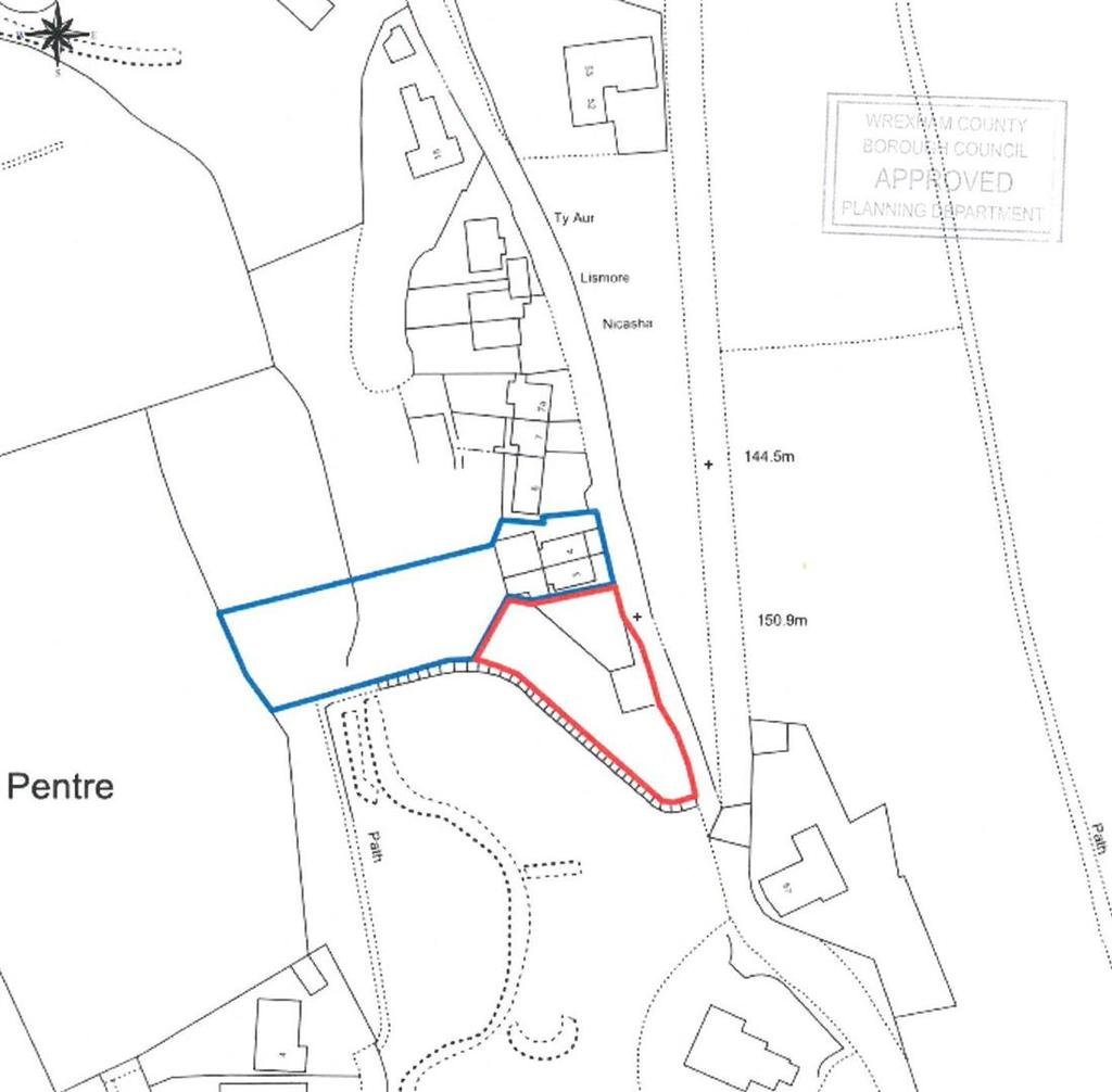 Plot Commercial for sale in Castletown Road, Moss, Wrexham