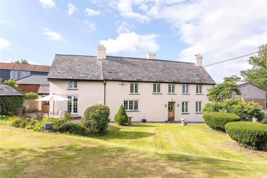 5 Bedrooms Country House Character Property for sale in St. Giles-on-the-Heath, Launceston, Cornwall