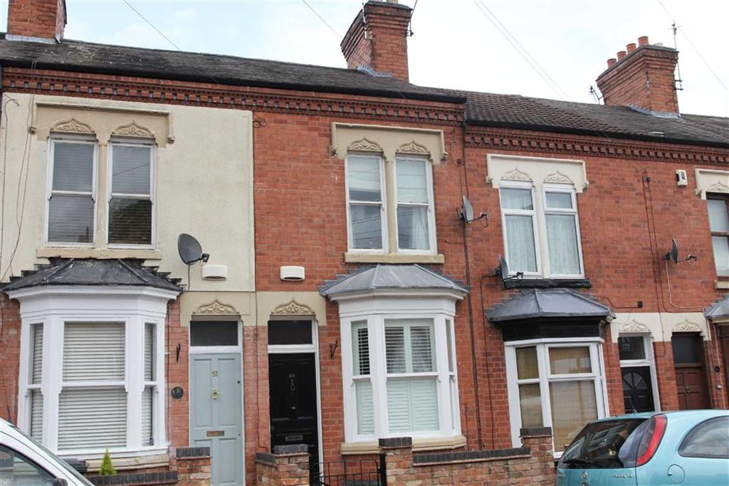 2 Bedrooms Terraced House for sale in Shaftesbury Road, West End, Leicester