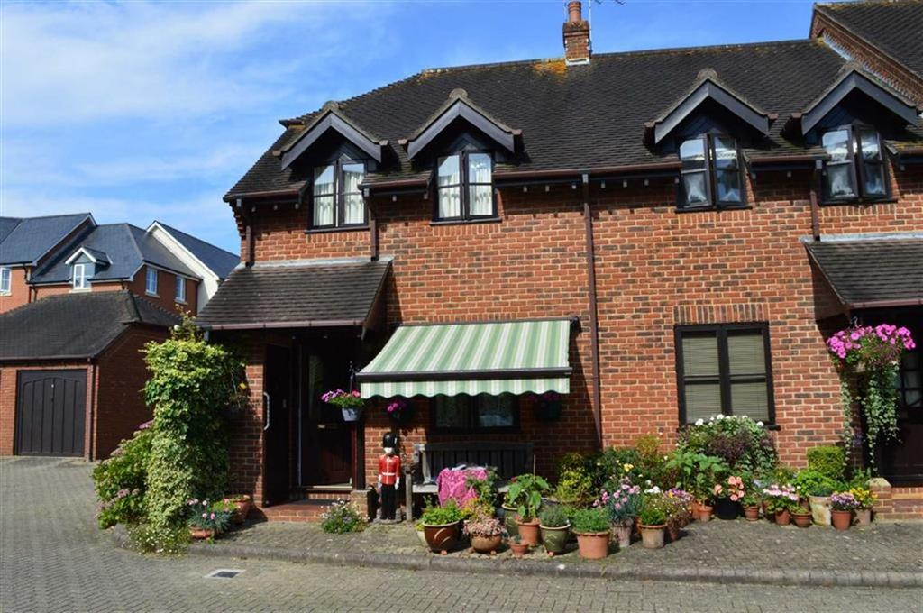 2 Bedrooms End Of Terrace House for sale in Coppercourt Leaze, Wimborne, Dorset