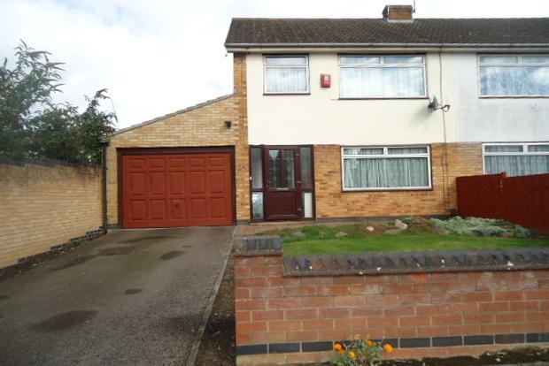 3 Bedrooms Semi Detached House for sale in Weaver Road, Off Scraptoft Lane, Leicester, LE5